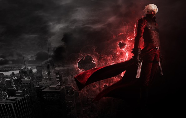 Картинка Dante, DMC, Devil May Cry