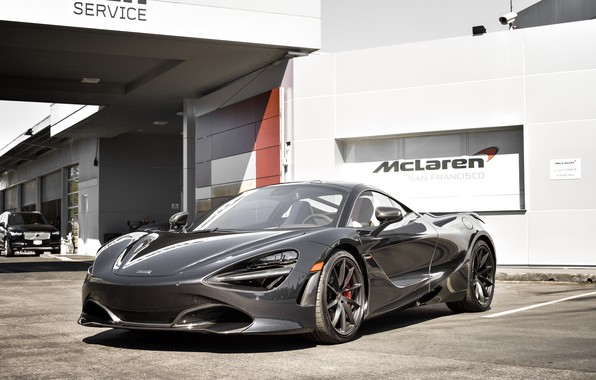 Картинка McLaren, Black, Zenith, 720S