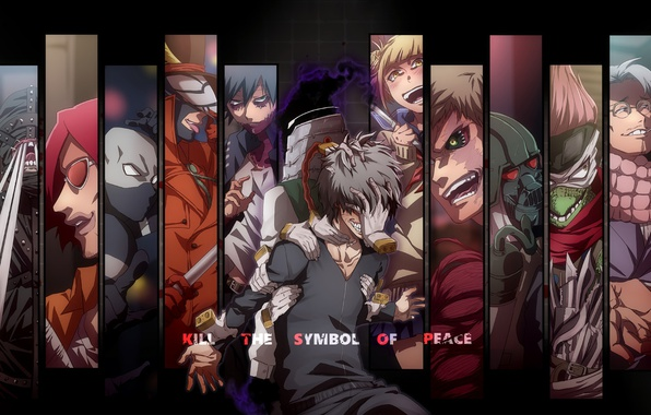 Картинка anime, evil, hands, manga, powerful, strong, uniform, enemy, seifuku, Boku no Hero Academia, My Hero …