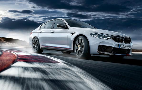 Картинка гоночный трек, 2018, BMW M5, M Performance