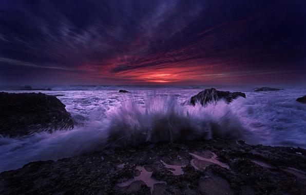 Картинка волны, прибой, Spain, Andalusia
