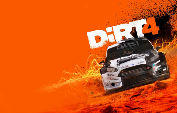 Картинка Ford, Car, Game, DiRT 4