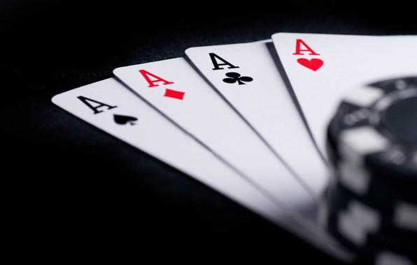 Картинка карты, фишки, туз, покер