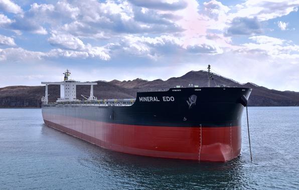 Фото обои морской, балкер, сухогруз, судно, Mineral Edo, море