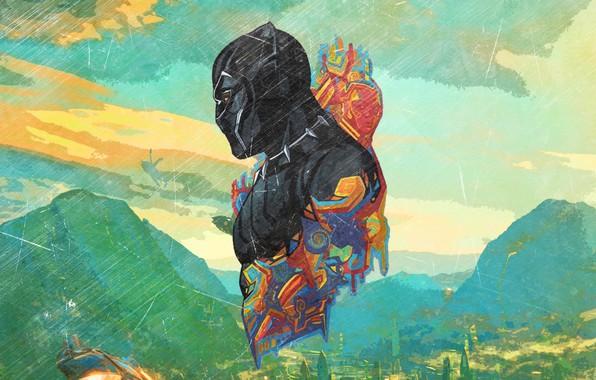 Картинка Marvel, Africa, Black Panther, T`Challa, Wakanda