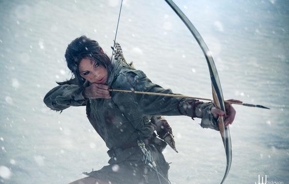 Картинка Tomb Raider, Lara Croft, Cosplay, Rise Of The Tomb Raider, Jenn Croft