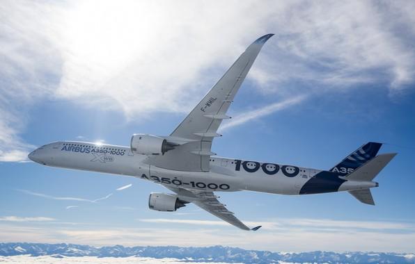 Картинка Airbus, Аэробус, А350, A350-1000