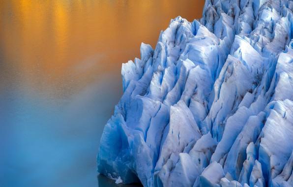 Картинка Nature, Landscape, Ice, Grey Glacier