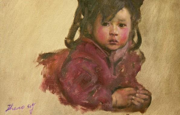 Картинка девочка, китаянка, HongNian Zhang, 5littleprincess