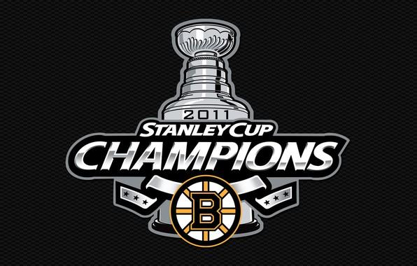 Картинка белый, желтый, полосы, черный, медведи, white, хоккей, black, Бостон, 2011, yellow, Boston, lines, нхл, hockey, …