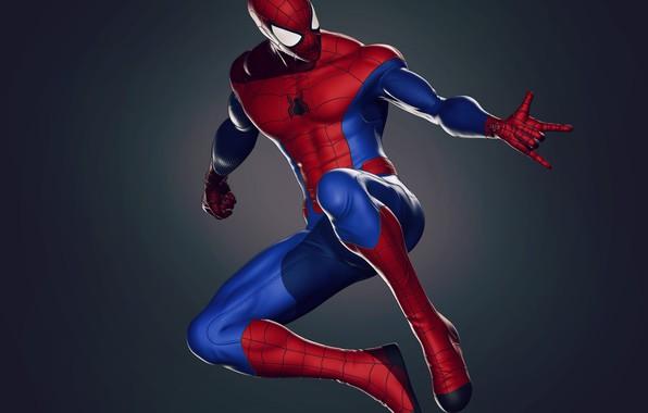 Картинка Костюм, Герой, Маска, Супергерой, Hero, Marvel, Человек-паук, Comics, Spider-Man, Peter Parker, Питер Паркер, Mask, Марвел, …