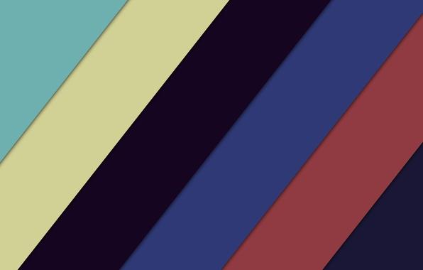 Картинка Линии, Цвета, Color, Colors, Геометрия, Lollipop, Material Design, Matetial