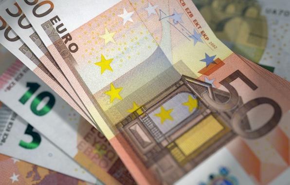 Картинка деньги, валюта, купюры, EURO