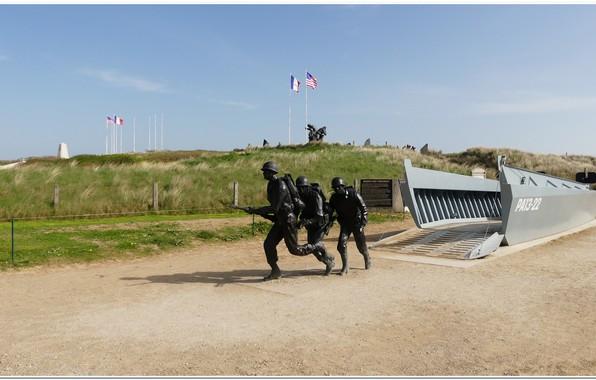 Картинка france, normandy, ww2, normandie, utha beach