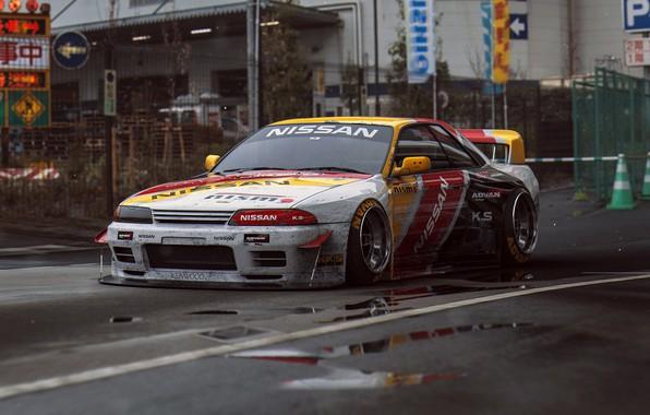 Картинка GTR, Nissan, R32, Tuning, Future, by Khyzyl Saleem