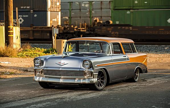 Картинка Chevrolet, Wheels, Nomad, Forgeline, Dropkick