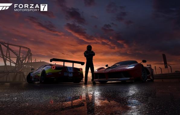 Картинка car, game, cars, race, speed, pilot, Forza Motorsport, Forza Motorsport 7