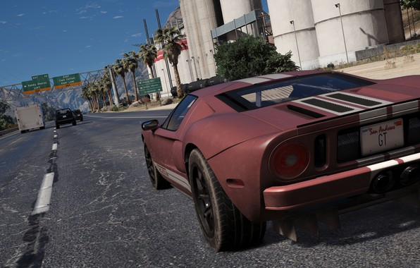 Картинка Ford GT, Grand Theft Auto V, GTA V