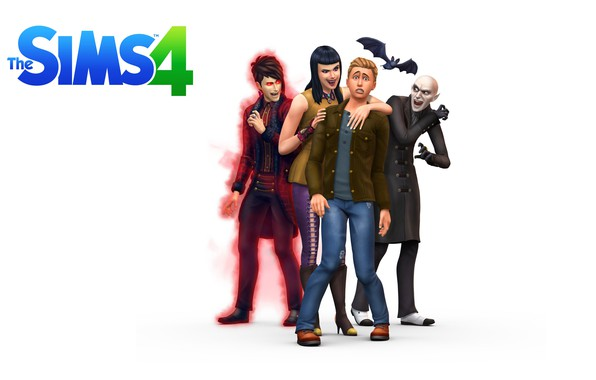 Картинка game, вампиры, симс, Sims, Sims 4, sims 4