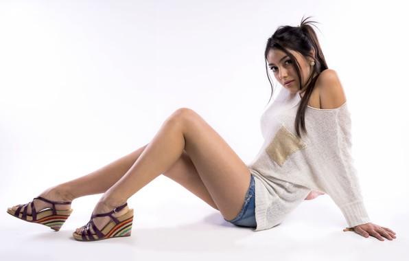Картинка девушка, секси, красивые ножки