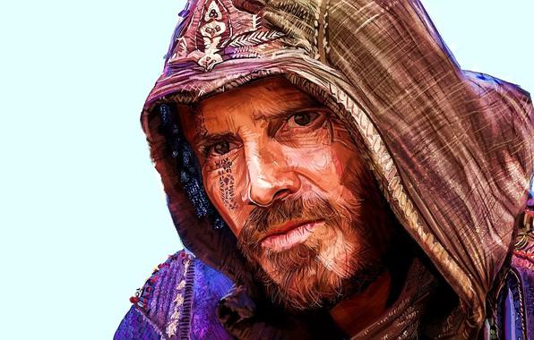 Картинка арт, Assassin's Creed, Michael Fassbender, Майкл Фассбендер