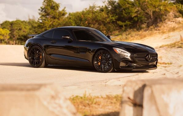Картинка Mercedes, GTS, Wheels, Niche
