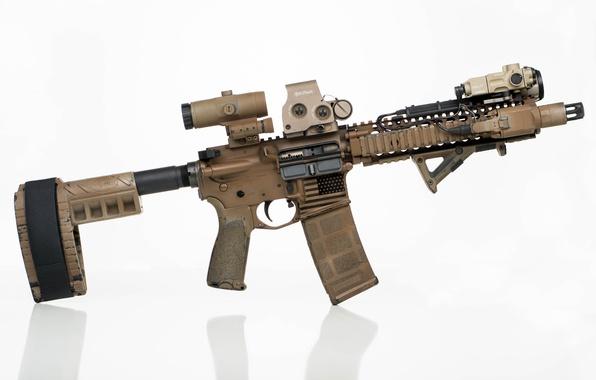 Картинка оптика, карабин, ремешок, штурмовая винтовка