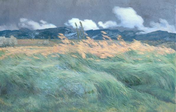 Картинка масло, картина, Пейзаж, холст, Louis Patru