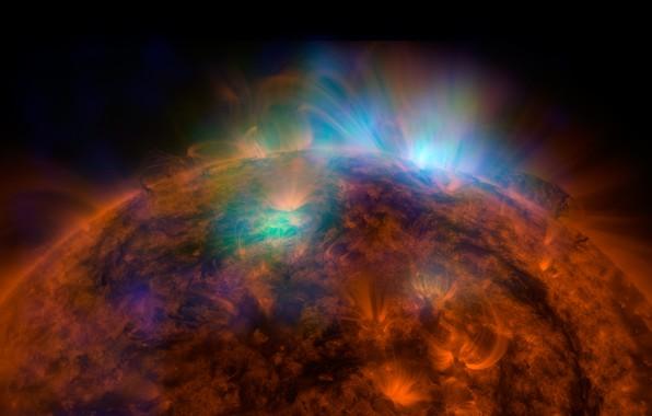 Картинка солнце, космос, space, star, sun