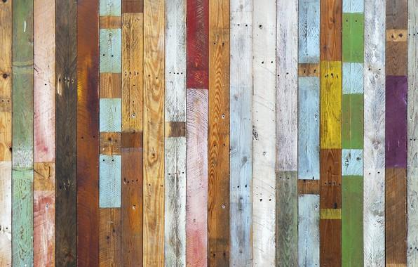 Картинка доски, забор, цвет