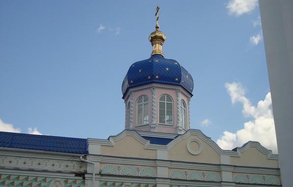 Картинка храм, купол, православие