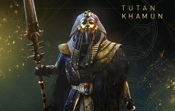 Картинка Tutankhamun, The Curse Of The Pharaohs, Assassin's Creed Origins, Проклятие фараонов