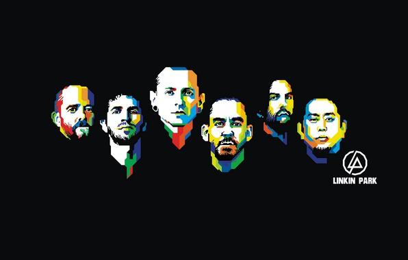Картинка ART, Linkin Park, Mike Shinoda, Chester Bennington, Rob Bourdon, Brad Delson, Joseph Hahn, Dave Farrell