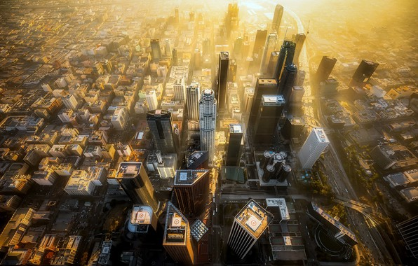 Картинка Los Angeles, California, Civic Center