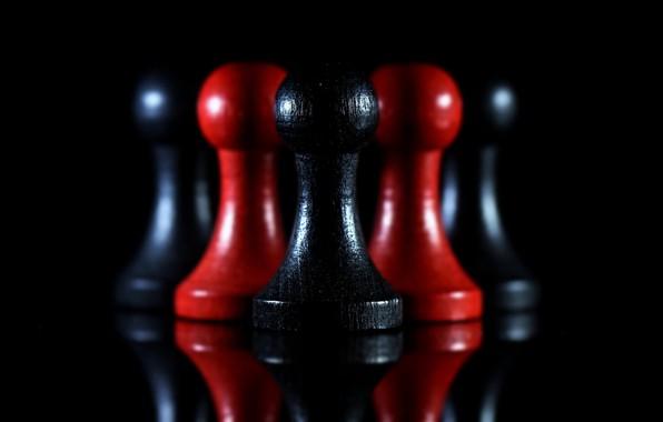 Картинка шахматы, фигуры, пешки