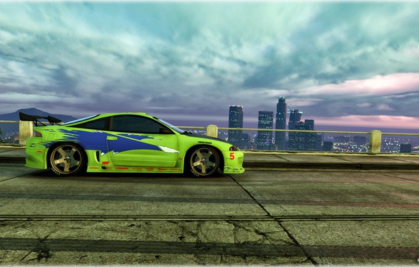 Картинка Car, Eclipse, Grand theft auto 5