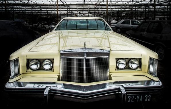Картинка машина, Lincoln, фон, Continental