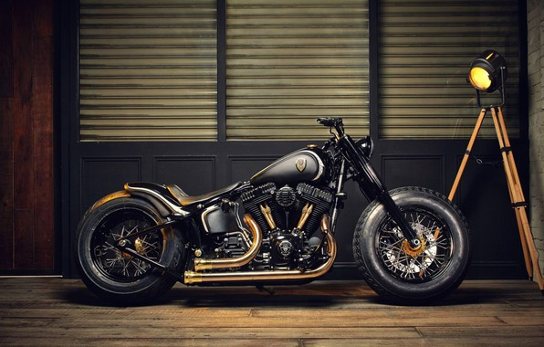 Фото обои Chopper, bike, custom, motorbike
