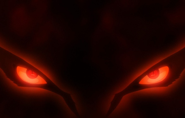Картинка red, game, Naruto, fox, eyes, anime, red eyes, evil, asian, manga, japanese, Naruto Shippuden, Kyuubi, …