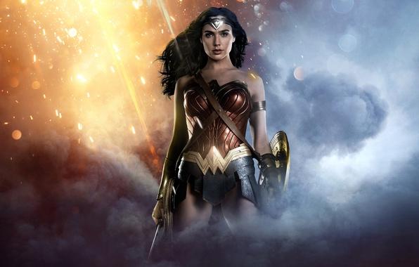 Wonder Woman Movie Wallpaper 1: Обои Wallpaper, Battlefield, Girl, Sexy, Style, Grey, War