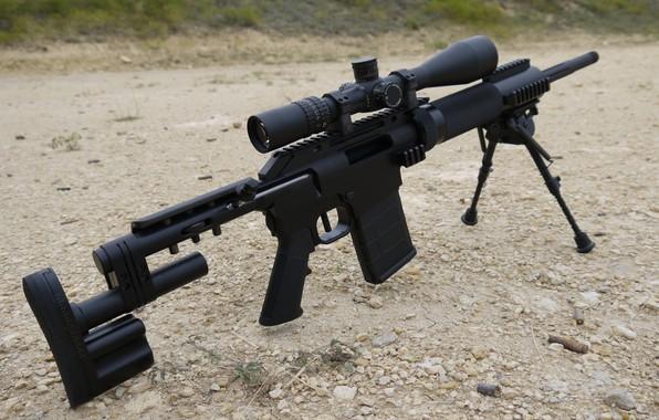 Картинка оружие, weapon, снайперская винтовка, CS5, sniper rifle, КС5, МакМилан, MacMilan