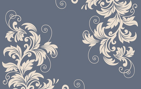 Картинка цветы, узор, вектор, текстура, декор