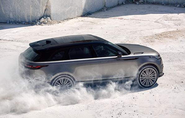 Картинка Land Rover, Range Rover, Sand, 2017, Velar