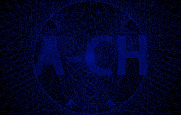 Картинка синий, сеть, лого, ACH