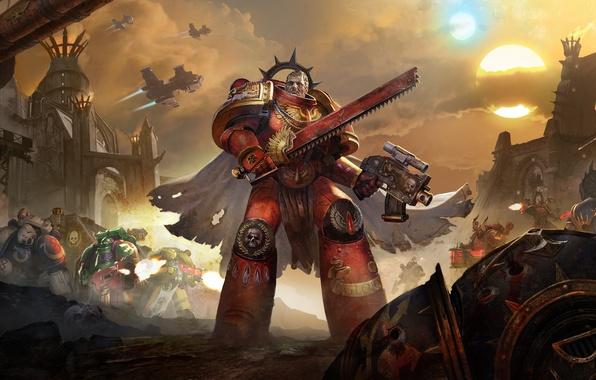 Картинка Warhammer 40000, космодесант, Eternal Crusade, Space marine