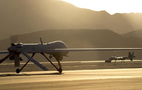 Картинка USA, Reaper, combat, technology, drone, montain, high technology, high tec, MQ9