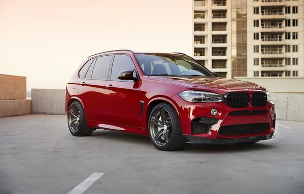 Картинка BMW, RED, X5M, Sight, F85
