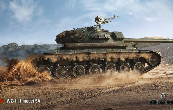 Картинка WoT, Мир танков, World of Tanks, Wargaming, WZ-111-5A, китайский танк