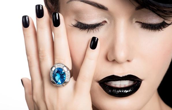 Картинка model, ring, make up