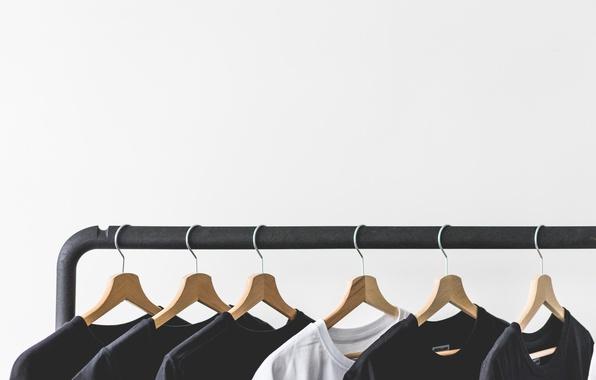 Картинка одежда, вешалка, футболки